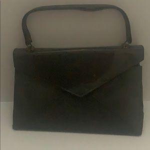 Handbags - Beautiful Vintage Smokey Grey Envelope Purse